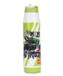 Cello Homeware Sipper Water Bottle Green - 900 ml