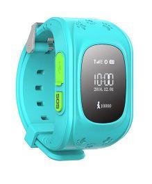 Wayona GPS Tracker Smart Wrist Watch - Blue