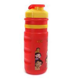 Chhota Bheem Insulated Sipper Water Bottle - Red & Yellow