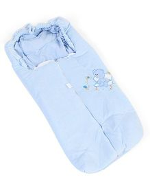 IQ Baby Family Sleeping Bag Bear Design - Blue
