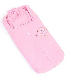 IQ Baby Family Sleeping Bag Bear Design - Pink