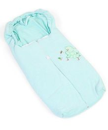 IQ Baby Family Sleeping Bag Bear Design - Light Green