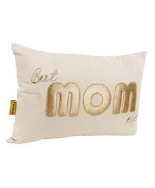 The Sprouts Cushion Mom Gold - Off White