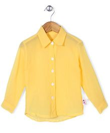 Chic Girls Casual Shirt - Yellow