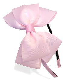 Keira's Pretties Bow Hair Band - Light Pink