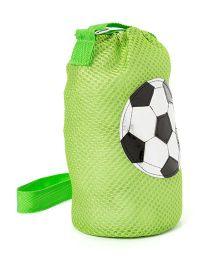 Li'll Pumpkins Football Design Bottle Cover - Green