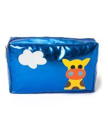 Li'll Pumpkins Giraffe Print Multipurpose Kit - Blue