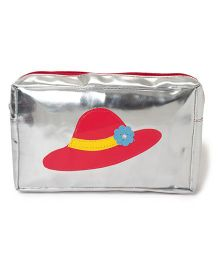 Li'll Pumpkins Hat Print Multipurpose Kit - Silver & Red