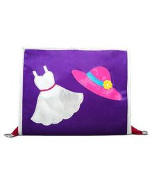 Li'll Pumpkins Dress Clip Organizer - Purple