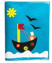 Li'll Pumpkins Boat Design Folders - Aqua