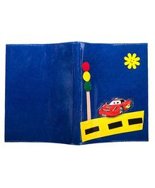 Li'll Pumpkins Car Design Folders - Blue