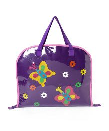 Li'll Pumpkins Butterfly Drawing Bags - Purple
