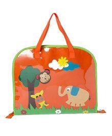 Li'll Pumpkins Jungle Drawing Bags - Orange