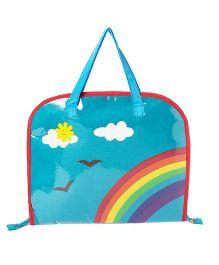 Li'll Pumpkins Rainbow Drawing Bags - Aqua Blue