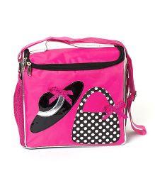 Li'll Pumpkins Hat Print Bag - Pink