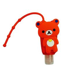 Li'll Pumpkins Teddy Bear Sanitizer - Red