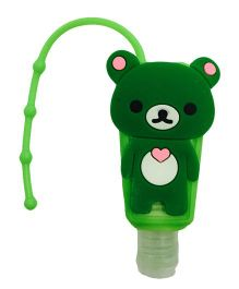 Li'll Pumpkins Teddy Bear Sanitizer - Green