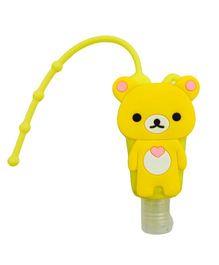 Li'll Pumpkins Teddy Bear Sanitizer - Yellow