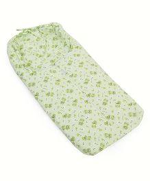 Montaly Sleeping Bag Bear Print - Green