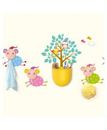 EZ Life DIY Cup & Hook Set Sheep - Multicolour