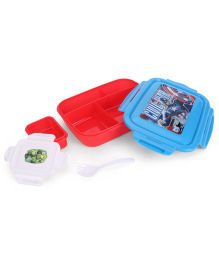 Disney Civil War Lunch Box - Blue And Red