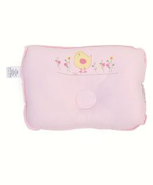 TomTom Joyful Baby Pillow Sparrow Print - Pink