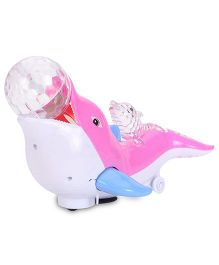 Playmate Happy Sea Lion - Pink