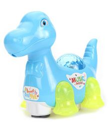 Toymaster Dinosaur With Light And Music - Blue
