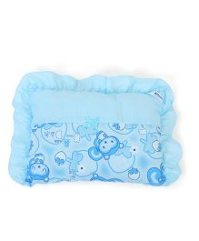 Attoon Baby Pillow Multiprint - Sky Blue