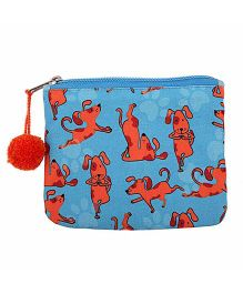 The Crazy Me My Pet My Best Friend Make Up Or Coin Pouch - Blue