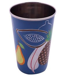 The Crazy Me Handpainted Colorful Fruit Tumbler Large - Multi