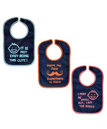 Meukebaby Bibs Multiprint - Pack Of 3