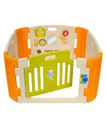 Babycenter India Baby Room Standard - Beige and Orange