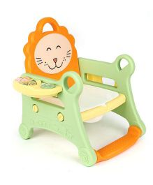 Babycenter India Baby Musical Potty Trainer - Green And Orange