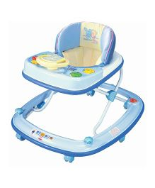 Babycenter India Baby Musical Joy Walker - Blue