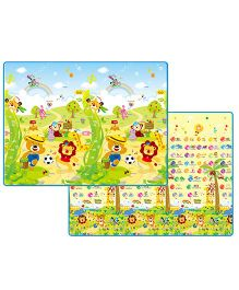 Babycenter India Baby Prime Living Baby Play Mat Double Side - Green