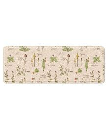 Babycenter India Parklon Kitchen Mat Large - Green & Beige