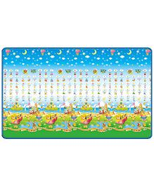 Babycenter India Well Being Play Mat Large - Blue & Green