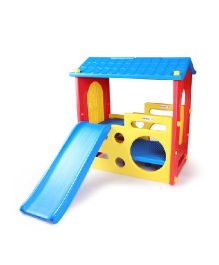 Babycenter India Kids Little Play House - Blue Yellow Red