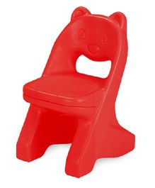 Babycenter India Bear Chair - Red