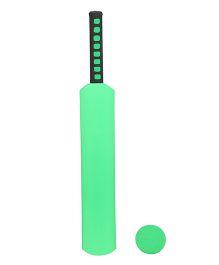 Emob Bat And Ball Foam Cricket Kit - Green