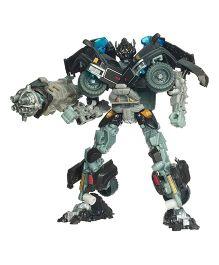 Emob Convertible Robot Into Jeep Toy Black - 21 cm