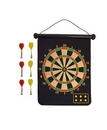 Emob Magnet Steel Tip Dart Board Multicolor - 20.5 Inches