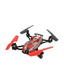 Emob Flying Car Quadcopter 2 in 1 - Red