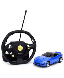 Emob Gravity Sensor Suspended Manipulation Mini Sense RC Car - Blue