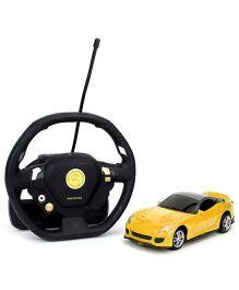 Emob Gravity Sensor Suspended Manipulation Mini Sense RC Car - Yellow