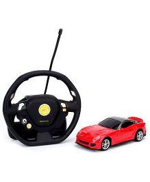Emob Gravity Sensor Suspended Manipulation Mini Sense RC Car - Red