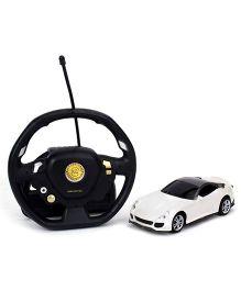 Emob Gravity Sensor Suspended Manipulation Mini Sense RC Car - White