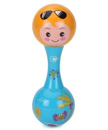 Toymaster Orff Music Rattle Blue - 5 Inches