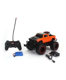 Toymaster Remote Control Cross Country Pick Up - Orange And Black